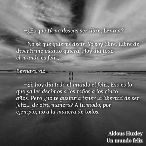 Un Mundo Feliz De Aldous Huxley Marea Literaria